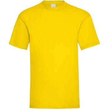 Abbigliamento Uomo T-shirt maniche corte Universal Textiles 61036 Giallo brillante