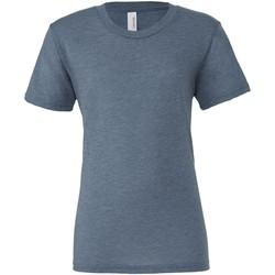 Abbigliamento Uomo T-shirt maniche corte Bella + Canvas CA3413 Denim