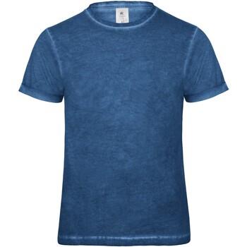 Abbigliamento Uomo T-shirt maniche corte B And C BA801 Blu