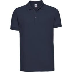 Abbigliamento Uomo Polo maniche corte Russell 566M Blu Navy