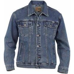 Abbigliamento Uomo Giacche in jeans Duke  Jeans chiaro