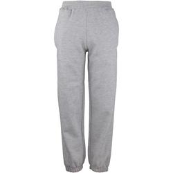Abbigliamento Unisex bambino Pantaloni da tuta Awdis JH72J Erica grigia