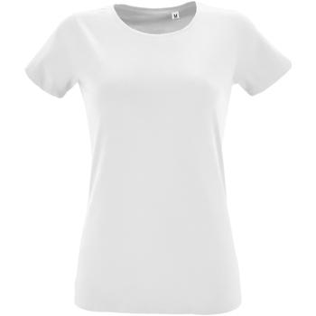 Abbigliamento Donna T-shirt maniche corte Sols 2758 Bianco
