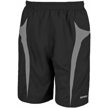 Abbigliamento Uomo Shorts / Bermuda Spiro S184X Nero/Grigio