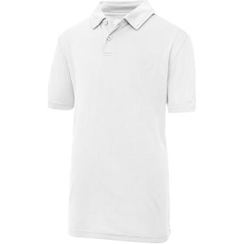 Abbigliamento Unisex bambino Polo maniche corte Awdis JC40J Bianco artico