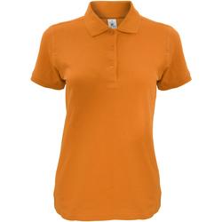 Abbigliamento Donna Polo maniche corte B And C Safran Arancione Zucca