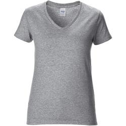 Abbigliamento Donna T-shirt maniche corte Gildan GD015 Grigio Sport