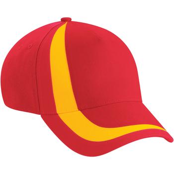 Accessori Cappellini Beechfield  Rosso/Giallo