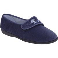 Scarpe Donna Pantofole Sleepers  Blu navy