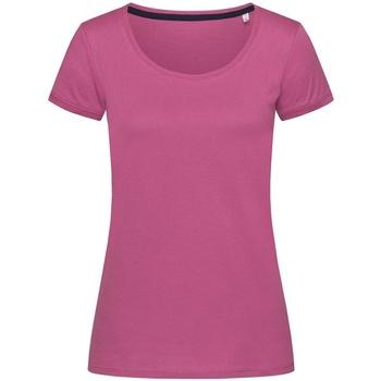 Abbigliamento Donna T-shirt maniche corte Stedman Stars  Fucsia