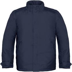 Abbigliamento Uomo Giacche B And C Real+ Blu navy