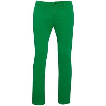 Abbigliamento Uomo Chino Sols 01424 Verde kelly