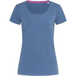 Abbigliamento Donna T-shirt maniche corte Stedman Stars  Azzurro medio