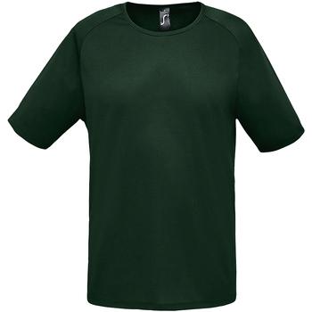 Abbigliamento Uomo T-shirt maniche corte Sols 11939 Verde foresta