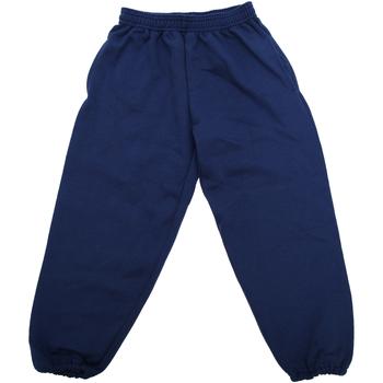 Abbigliamento Unisex bambino Pantaloni da tuta Jerzees Schoolgear 750B Blu navy