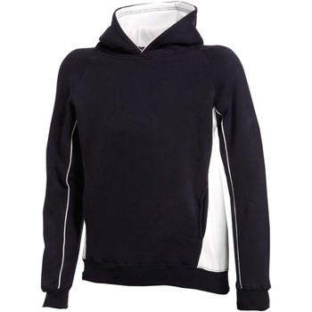 Abbigliamento Unisex bambino Felpe Finden & Hales LV339 Blu navy/Bianco
