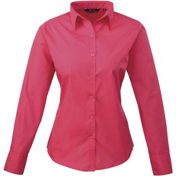 Abbigliamento Donna Camicie Premier PR300 Rosa acceso