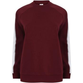 Abbigliamento Felpe Skinni Fit SF523 Bordeaux/Bianco