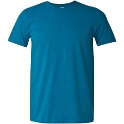 Abbigliamento Uomo T-shirt maniche corte Gildan Soft-Style Zaffiro vintage