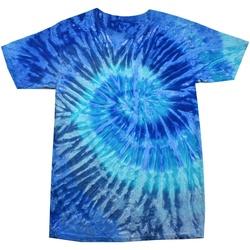 Abbigliamento Donna T-shirt maniche corte Colortone Rainbow Jerry Blu