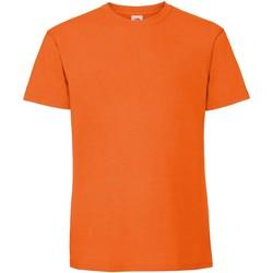 Abbigliamento Uomo T-shirt maniche corte Fruit Of The Loom 61422 Arancio