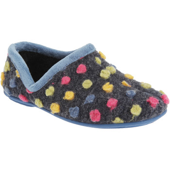Scarpe Donna Pantofole Sleepers  Blu Chiaro/Multi
