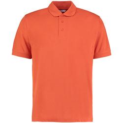 Abbigliamento Uomo Polo maniche corte Kustom Kit KK403 Arancio