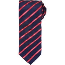 Abbigliamento Uomo Cravatte e accessori Premier Formal Blu navy/Rosso