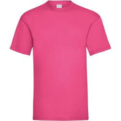 Abbigliamento Uomo T-shirt maniche corte Universal Textiles 61036 Rosa acceso