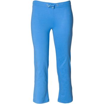 Abbigliamento Bambina Pantaloni da tuta Skinni Fit Boot Cut Blu acceso