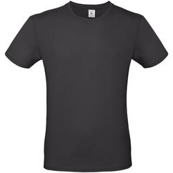 Abbigliamento Uomo T-shirt maniche corte B And C TU01T Nero sporco
