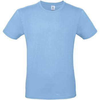 Abbigliamento Uomo T-shirt maniche corte B And C TU01T Azzurro cielo