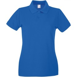 Abbigliamento Donna Polo maniche corte Universal Textiles 63030 Blu cobalto
