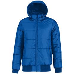 Abbigliamento Uomo Piumini B And C Bomber Blu reale/Arancione neon