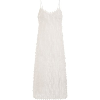 Abbigliamento Donna Abiti lunghi Girls On Film Goulding Bianco