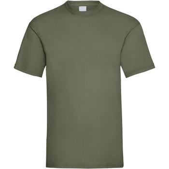 Abbigliamento Uomo T-shirt maniche corte Universal Textiles 61036 Verde oliva