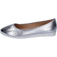 Scarpe Donna Ballerine Lancetti ballerine pelle sintetica argento