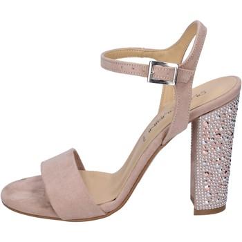 Scarpe Donna Sandali Olga Rubini sandali camoscio sintetico strass rosa
