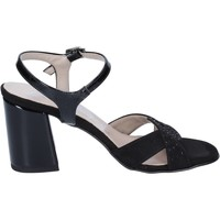 Scarpe Donna Sandali Lady Soft sandali camoscio sintetico vernice nero