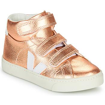 Scarpe Bambina Sneakers alte Veja SMALL-ESPLAR-MID Rosa