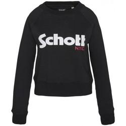 Abbigliamento Donna Felpe Schott Sweatshirt SW GINGER 1 W Noir Nero