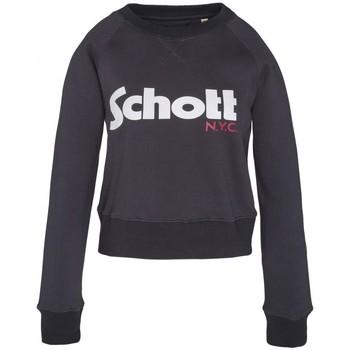 Abbigliamento Donna Felpe Schott Sweatshirt SW GINGER 1 W Marine Blu