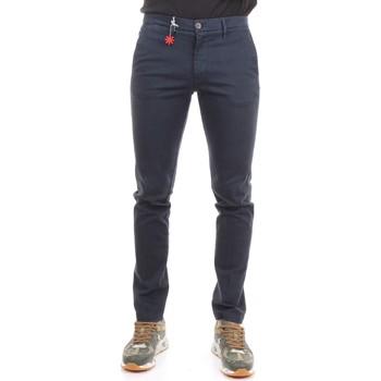 Abbigliamento Uomo Pantaloni da completo Manuel Ritz 2732P1578 193813 Pantaloni Uomo Blu Blu