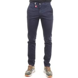 Abbigliamento Uomo Pantaloni da completo Manuel Ritz 2732P1578T 193811 Pantaloni Uomo Blu medio Blu medio