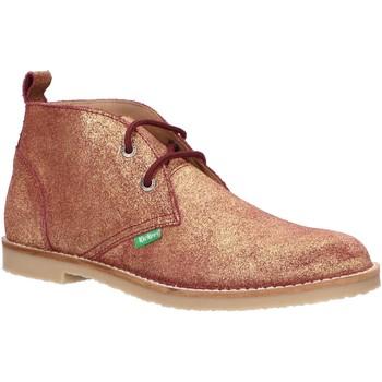 Scarpe Unisex bambino Stivaletti Kickers 736421-30 TYZ Gold