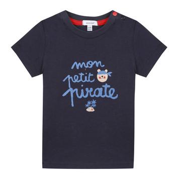 Abbigliamento Bambino T-shirt maniche corte Absorba NADINE Marine