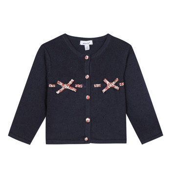 Abbigliamento Bambina Gilet / Cardigan Absorba NOLI Marine