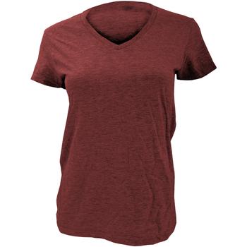 Abbigliamento Donna T-shirt maniche corte Anvil Basic Rosso