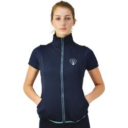 Abbigliamento Donna Felpe in pile Hyrider  Blu marine/Foglia di te