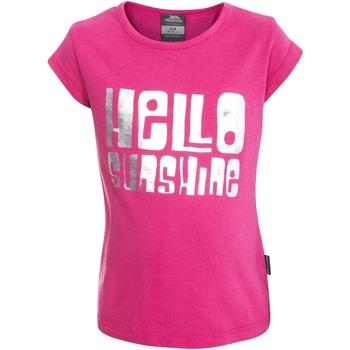 Abbigliamento Bambina T-shirt maniche corte Trespass  Rosso